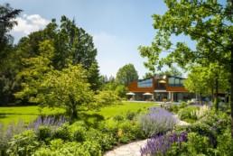 Gartefotografie Garten moderne Architektur