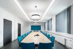 Architekturfotografie Nordost-Institut Konferenzraum Besprechungsraum