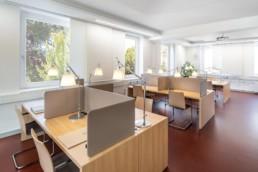 Architekturfotografie Nordost-Institut Lesesaal