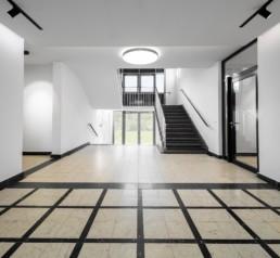 Architekturfotografie Nordost-Institut Eingangsbereich