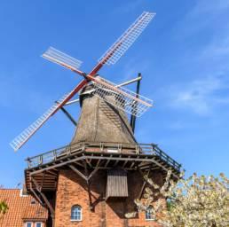 Altes Land, Mühle, Jork, Borstel