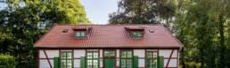 Frontalansicht Altes Gaertnerhaus