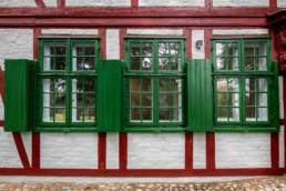 Gärtnerhaus, Außenaufnahme 3 Fenster