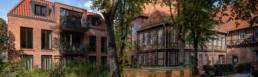 Alte Musikschule lueneburg Außenaufnahme Innenhof