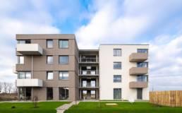Architekturfotografie, Nordkante, Mehrfamilienhaus